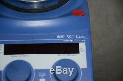 IKA RCT Basic Hot Plate Magnetic Stirrer Stirring Digital 120V