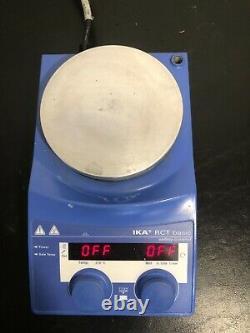 IKA RCT Basic Hot Plate Magnetic Stirrer Stirring Digital 120V Mix