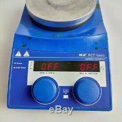 IKA RCT basic Magnetrührer Laborrührer Hot Plate Stirrer