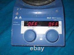 IKA RET B S1 Digital Hot Plate Magnetic Stirrer