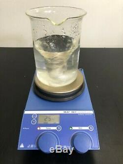 IKA RET Control Visc Hot Plate Magnetic Stirrer Stirring Digital 120V WARRANTY