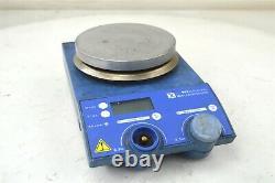 IKA RET Control Visc Hot Plate Magnetic Stirrer with IKA ETS-D4