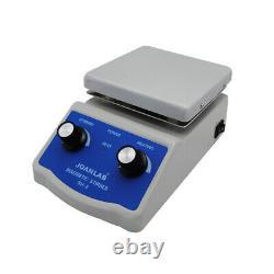 JOANLAB SH-2 Digital Lab Hot Plate Magnetic Stirrer Mixer Thermostatic 220V 180W