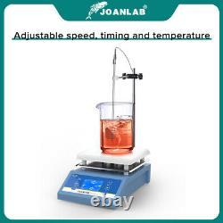 Lab Magnetic Hotplate Stirrer Digital Hot Plate Heating Mixer 1L 3L 5L with Holder