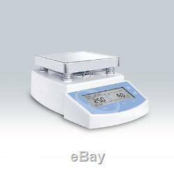 Letest MS-300 Digital Hot Plate Magnetic Stirrer Mixer