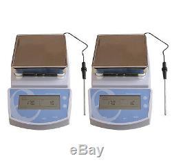 MS-300 Digital Hot Plate Magnetic Stirrer Mixer 220V
