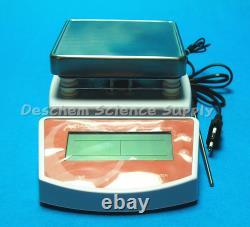 MS400 Hot Plate Magnetic Stirrer, 120V/220V 50Hz, Max 400 Celsius Degree, US Plug