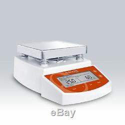 MS400 Hot Plate Magnetic Stirrer, Max 400 Celsius Degree, 220V OR 110V