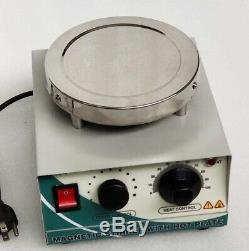 Magnetic Stirrer 110 V AC Stainless Steel Hot Plate with 50 mm STIR BAR