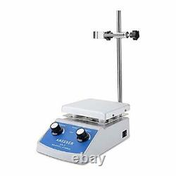 Magnetic Stirrer Hot Plate, 100-2000rpm Lab Stirrers, 180W Heating Power 716