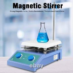 Magnetic Stirrer SH-4 2 Heating Plate 5000ml Hot Plate 2000RPM RPM Kit 600W