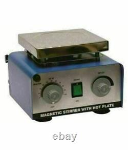 Magnetic Stirrer With Hot Plate 2000 ML & 5000ml With Teflon Bar