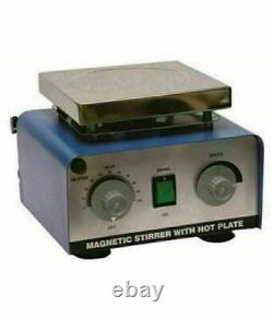 Magnetic Stirrer With Hot Plate 2000 ML L With Teflon Bar