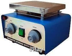 Magnetic Stirrer With Hot Plate Dual Control (free Shipping World Wide)