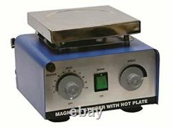 Magnetic Stirrer With Hot Plate use in Laboratories for Mixing and Heating