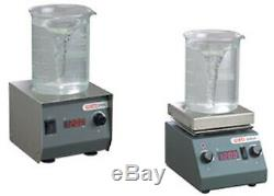 Magnetic Stirrer with Hot Plate with SS Top and Digital Speed Indicator 1 MLH