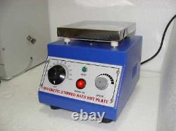 Magnetic stirrer with hot plate Lab Mixers, Shakers & Stirrers