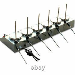 Magnetism Stirrer Adjustable Heating Mixer Hot Plate Magnetic Stirrer Machine US