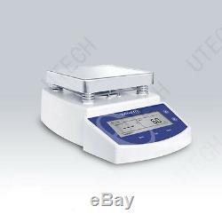 NEW Digital Hot Plate Magnetic Stirrer Mixer MS-300 AC 220V/50Hz