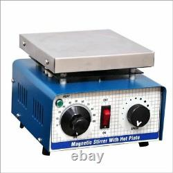 NEW Magnetic Stirrer with Hot Plate 110 VOLT. (5000 ml) FREE SHIPPING WORLD WIDE