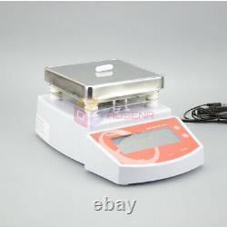 New 110V/220V Digital Hot Plate Magnetic Stirrer Electric Heating Mixer MS400