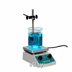 New 2 in 1 180W Hot Plate Magnetic Stirrer Heating & Stirring 5x5