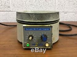 OEM VWR Scientific Product DYLA-Dual Hot Plate/Stirrer Model No. 58849-01
