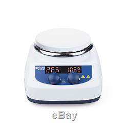 ONiLAB 5 inch LED Digital Hotplate Magnetic Stirrer Hot Plate with Ceramic Lab