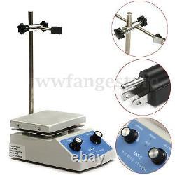 SH-2 220V Lab Magnetic Stirrer Mixer Heating Hot Plate Control Stirring NE