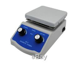 SH-2 Digital Lab Thermostatic Hot Plate Magnetic Stirrer Mixer 1212cm 220V
