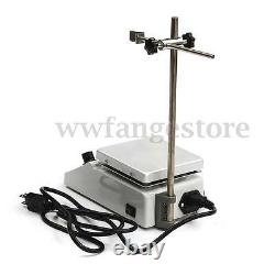 SH-2 Hotplate Stirrer, 12x12cm Anodised Hot Plate, Magnetic Stirrer with