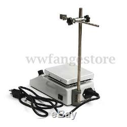 SH-2 Hotplate Stirrer, 12x12cm Anodised Hot Plate, Magnetic Stirrer with Heating