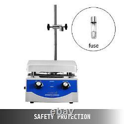 SH-3 Hot Plate Magnetic Stirrer Mixer Stirring Laboratory 3000ml Dual Control
