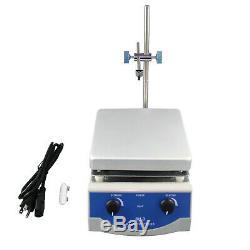 Sh-3 Magnetic Stirrer Hot Plate Dual Controls Digital Display 500W Heating MS