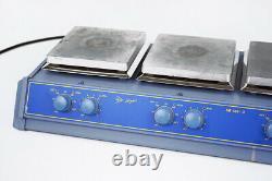 Stuart Bibby SB162-3 3 Place Stellen Heizrührer Hotplate Heated Magnetic Stirrer