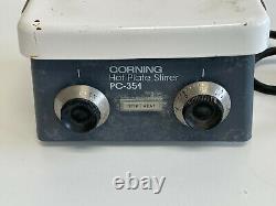 U50 Corning Model PC-351 Laboratory Magnetic Stirrer Hot Plate