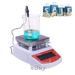 UK Digital Hot Plate Magnetic Stirrer Heating Mixer max Temp 400 Brand NEW