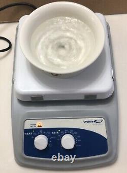 VWR VMS C-7 S1 Hot Plate Magnetic Stirrer Digital 120V