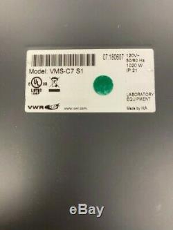 VWR VMS C-7 S1 Hot Plate Magnetic Stirrer Digital 7x 7 120V