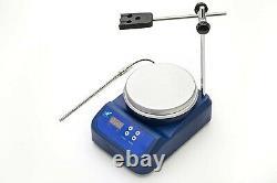 Worner Lab Magnetic Stirrer Hot Plate Mixer, 1,000mL, 0-2000RPM, 200W